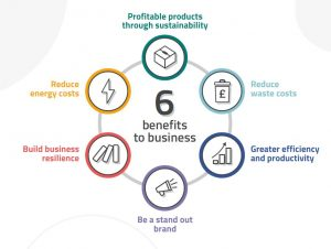 Sustainability 6 benefits to business